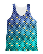 Mermaid Scales All-over Unisex Tank thumbnail