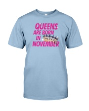 Queens Are Born in November Premium Fit Mens Tee thumbnail