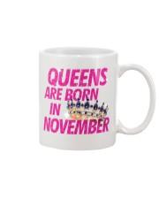 Queens Are Born in November Mug thumbnail