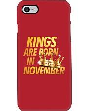 Kings Are Born in November Phone Case thumbnail