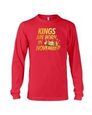 Kings Are Born in November Long Sleeve Tee thumbnail