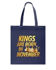 Kings Are Born in November Tote Bag thumbnail