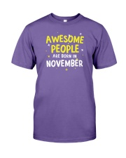 Awesome People Are Born In November Premium Fit Mens Tee thumbnail