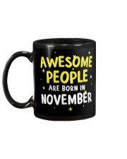 Awesome People Are Born In November Mug back