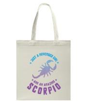 November Girl an Amazing Scorpio Tote Bag thumbnail