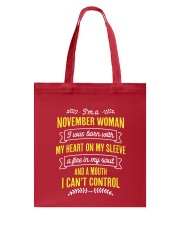 I'm a November Woman Tote Bag thumbnail