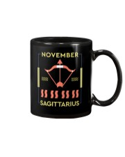 November Sagittarius Mug tile