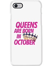 Queens Are Born in October Phone Case thumbnail