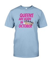 Queens Are Born in October Premium Fit Mens Tee thumbnail