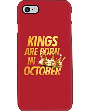 Kings Are Born in October Phone Case thumbnail