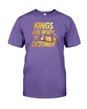 Kings Are Born in October Premium Fit Mens Tee thumbnail