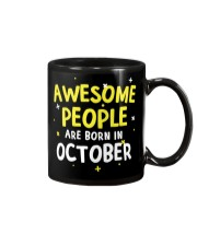 Awesome People Are Born In October Mug thumbnail