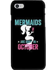 Mermaids Are Born in October Phone Case thumbnail