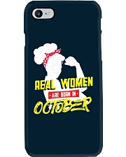 Real Women are Born in October Phone Case thumbnail