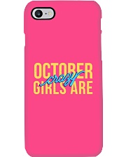 October Girls are Crazy Phone Case thumbnail