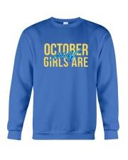 October Girls are Crazy Crewneck Sweatshirt thumbnail