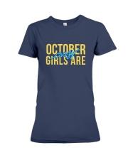 October Girls are Crazy Premium Fit Ladies Tee thumbnail