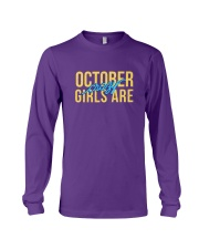 October Girls are Crazy Long Sleeve Tee thumbnail