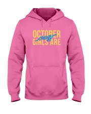 October Girls are Crazy Hooded Sweatshirt thumbnail