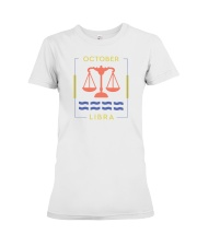 October Libra Premium Fit Ladies Tee thumbnail