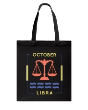 October Libra Tote Bag thumbnail