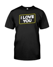 I Love You Classic T-Shirt tile