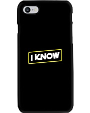 I Know Phone Case thumbnail