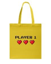 Player 1 Tote Bag thumbnail
