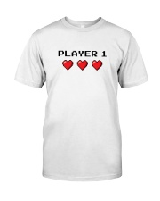 Player 1 Classic T-Shirt front