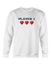 Player 1 Crewneck Sweatshirt thumbnail