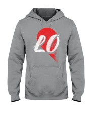 LO Left Half of Heart Hooded Sweatshirt thumbnail