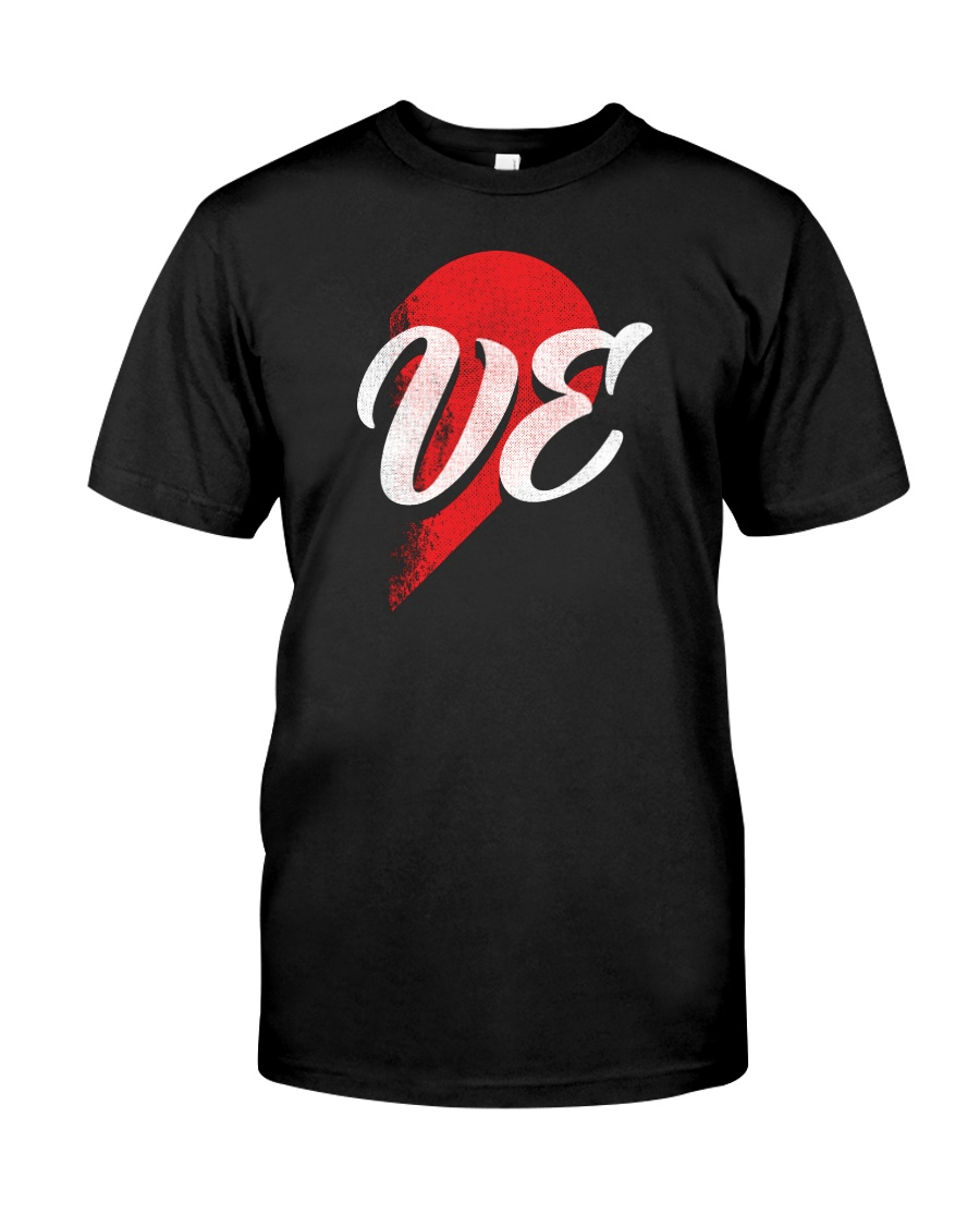VE Right Half of Heart Classic T-Shirt