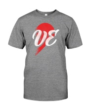 VE Right Half of Heart Premium Fit Mens Tee thumbnail