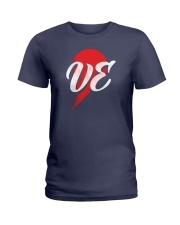 VE Right Half of Heart Ladies T-Shirt thumbnail