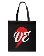 VE Right Half of Heart Tote Bag tile