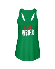 I Am Weird  Ladies Flowy Tank thumbnail