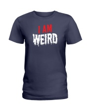 I Am Weird  Ladies T-Shirt thumbnail