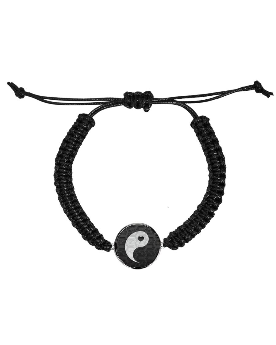 Yin Yang 1 of 2 Cord Circle Bracelet