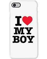 I Love My Boy Phone Case tile