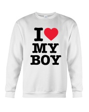 I Love My Boy Crewneck Sweatshirt thumbnail