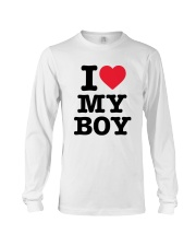 I Love My Boy Long Sleeve Tee thumbnail