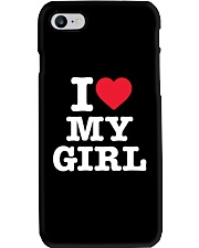 I Love My Girl White Version Phone Case thumbnail