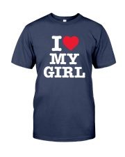 I Love My Girl White Version Premium Fit Mens Tee thumbnail