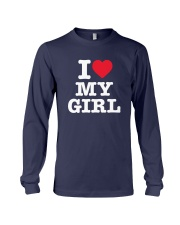 I Love My Girl White Version Long Sleeve Tee thumbnail
