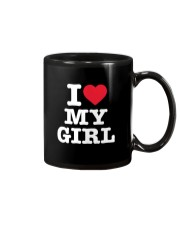 I Love My Girl White Version Mug thumbnail