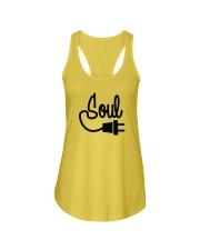 Soul Mate Left Side Ladies Flowy Tank thumbnail
