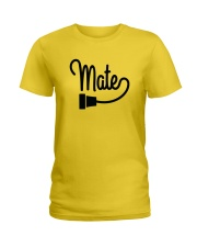 Soul Mate Right Side Ladies T-Shirt tile