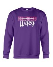 Girlfriend Wifey Crewneck Sweatshirt thumbnail