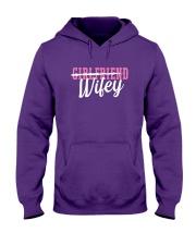 Girlfriend Wifey Hooded Sweatshirt thumbnail