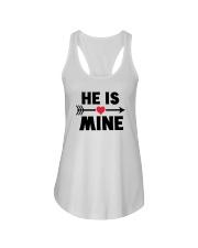 He Is Mine Ladies Flowy Tank thumbnail